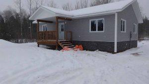 Housing Shequindah First Nation