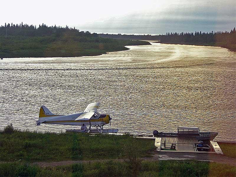 Moose Factory Float Plane